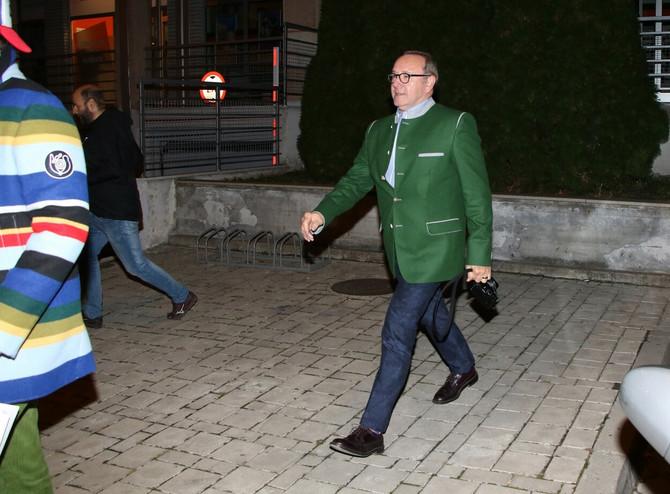 Kevin Spejsi je prilikom boravka u Beogradu posetio i restoran Novaka Đokovića