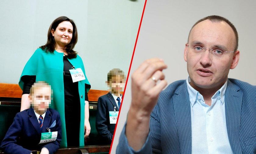 Joanna Piwowarczyk-Pawlak, żona Rzecznika Praw Dziecka Mikołaja Pawlaka