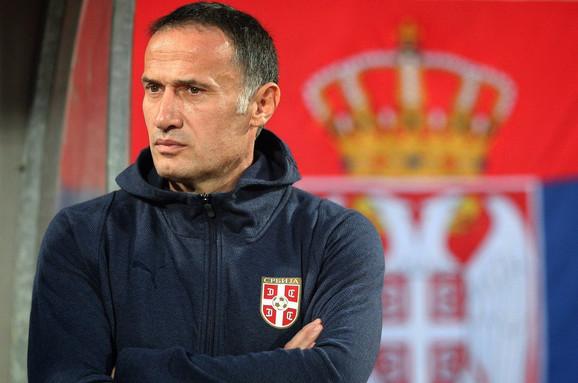 Goran Đorović, selektor mlade fudbalske reprezentacije Srbije