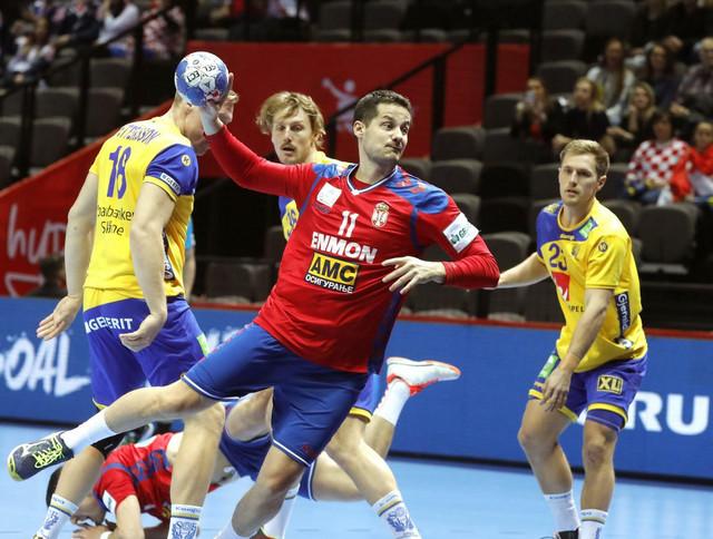 Bojan Beljanski na duelu protiv Šveđana