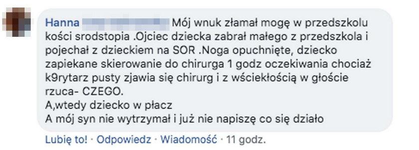 Oto opinie pacjentów o SOR-ach!
