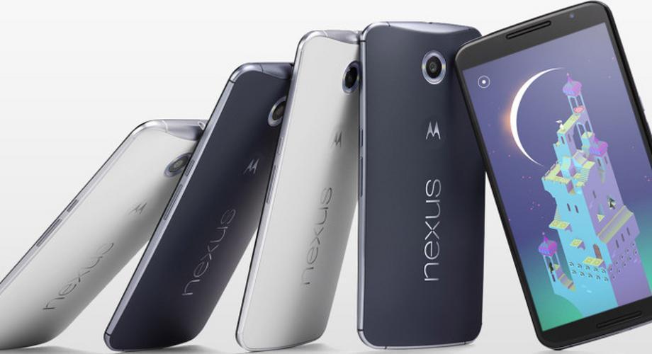 Google enthüllt Nexus 6 mit Android OS 5.0 Lollipop