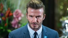 David Beckham niczym Popek? Przerażające zdjęcie piłkarza