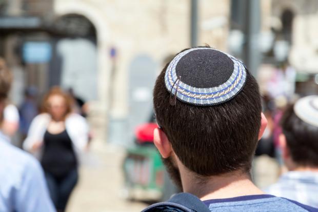Żyd w jarmułce