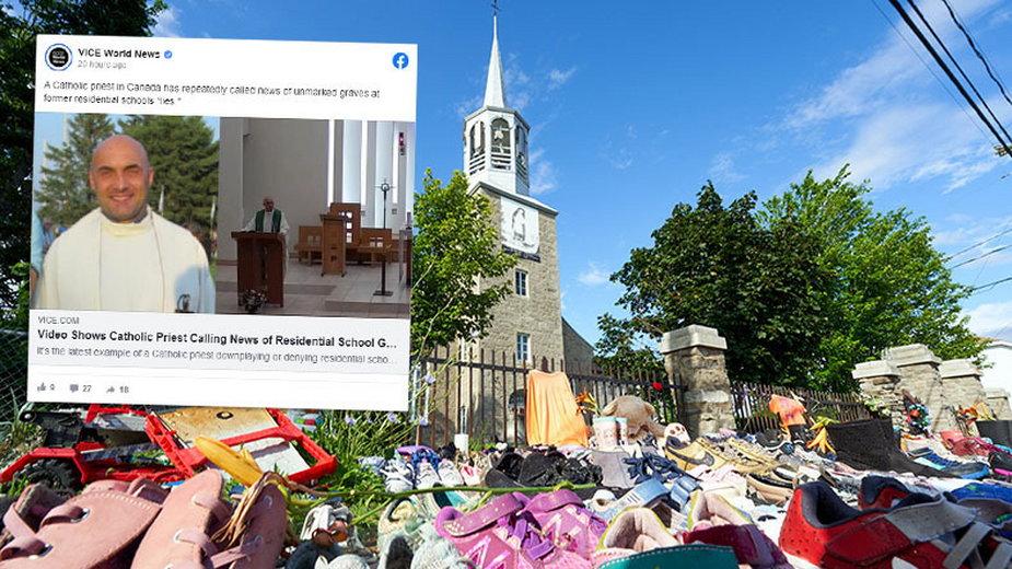Polski ksiądz podważył istnienie masowych grobów dzieci w Kanadzie