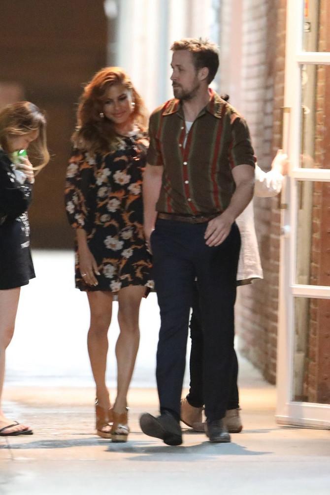 Eva Mendez i Rajan Gosling na dejtu