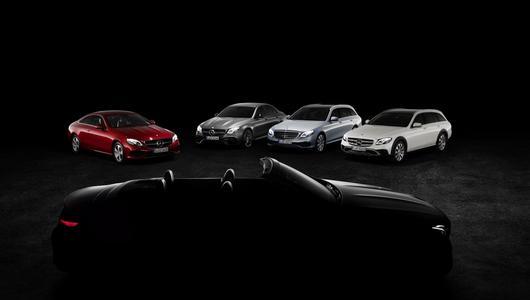 Nowy Mercedes klast E Kabriolet