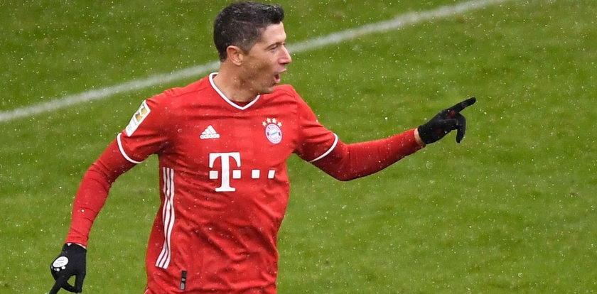 Robert Lewandowski z kolejnym rekordem! Skromne zwycięstwo Bayernu