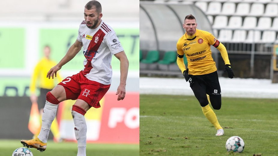 Łukasz Sekulski i Marcin Robak