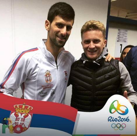 Novak Đoković i Boris Gavrilović
