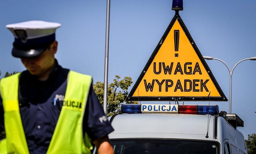 Śmiertelny wypadek na trasie między Przygłowem a Sulejowem