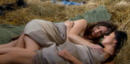 Odważna scena erotyczna w serialu. Przyłapane w stajni