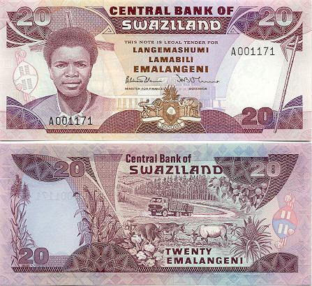 The Swazi Lilangeni