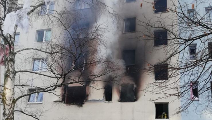 požar Nemačka @Polizei MD