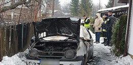 Mężczyzna spłonął żywcem w aucie, silnik był...