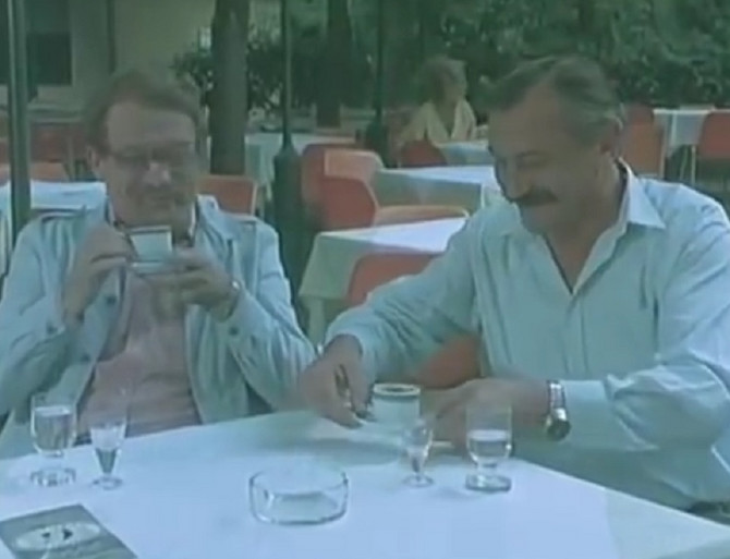 Čuveni tandem: Dragomir Bojanić Gidra i Marko Todorović
