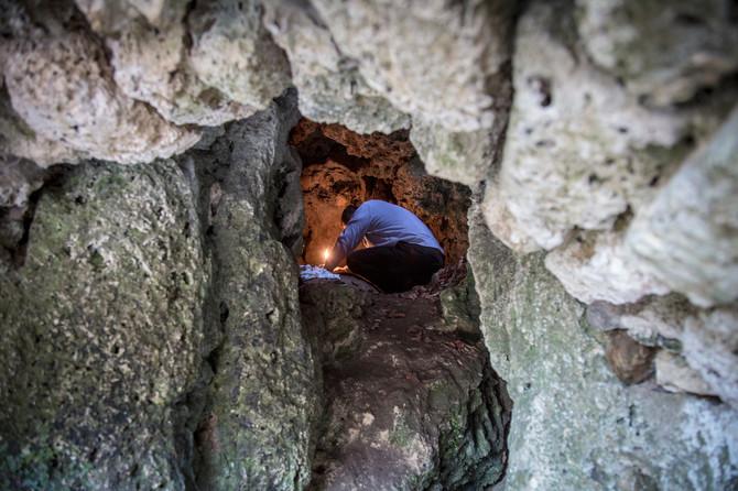 Udaljena nešto više od kilometar, u gustoj šumi, u stenama, nalazi se isposnica Svetog Zosima, gde je ovaj svetitelj živeo i molio se