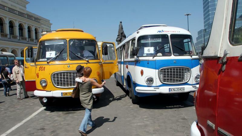 Stare autrobusy marki Jelcz