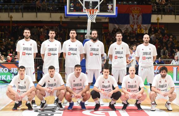 Košarkaši Srbije pred odlučujući meč sa Izraelom u kvalifikacijama za Svetsko prvenstvo