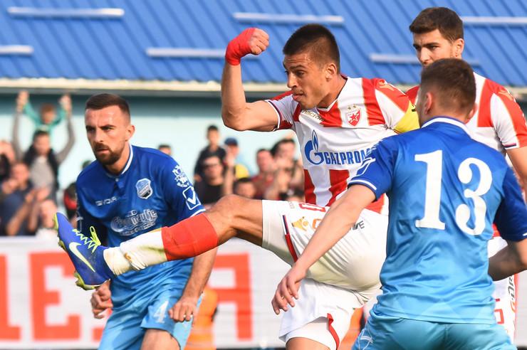 FK Bačka, FK Crvena zvezda