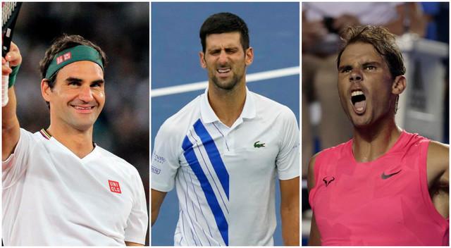 Federer Đoković Nadal