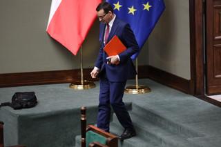 Morawiecki: Proszę marszałka Senatu, aby jeszcze dziś zwołał Senat