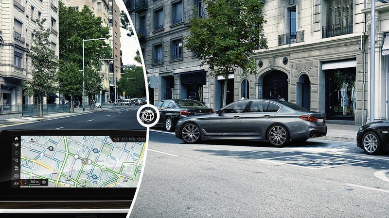 BMW Serii 5 samo znajdzie wolne miejsce parkingowe