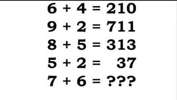 Možete li da rešite zagonetku?
