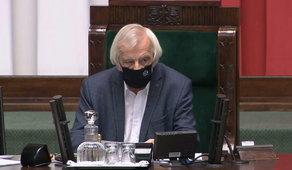 Wpadka w Sejmie, jak mogli tego nie zauważyć? Terlecki musiał ratować sytuację