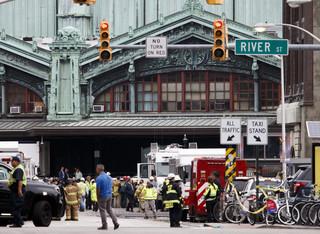 USA: Jedna osoba nie żyje, 65 rannych w wypadku kolejowym