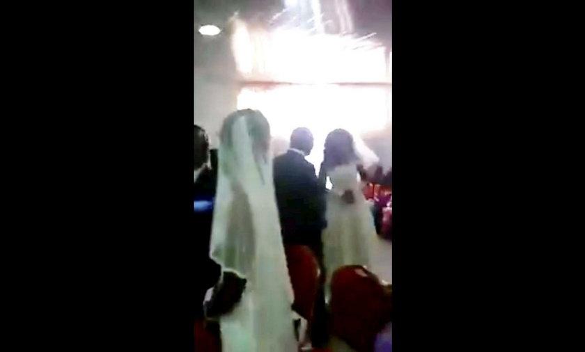 RPA: Skandal na ślubie. Do kościoła weszła kochanka pana młodego