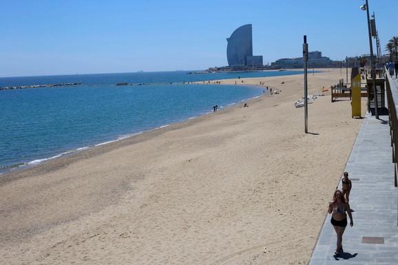 Plaža u Barseloni