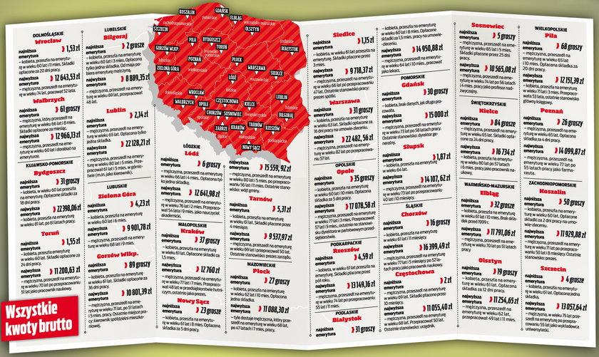 Najniższa emerytura w Polsce to 2 grosze! Dostaje je kobieta z Biłgoraja. To nie żart!