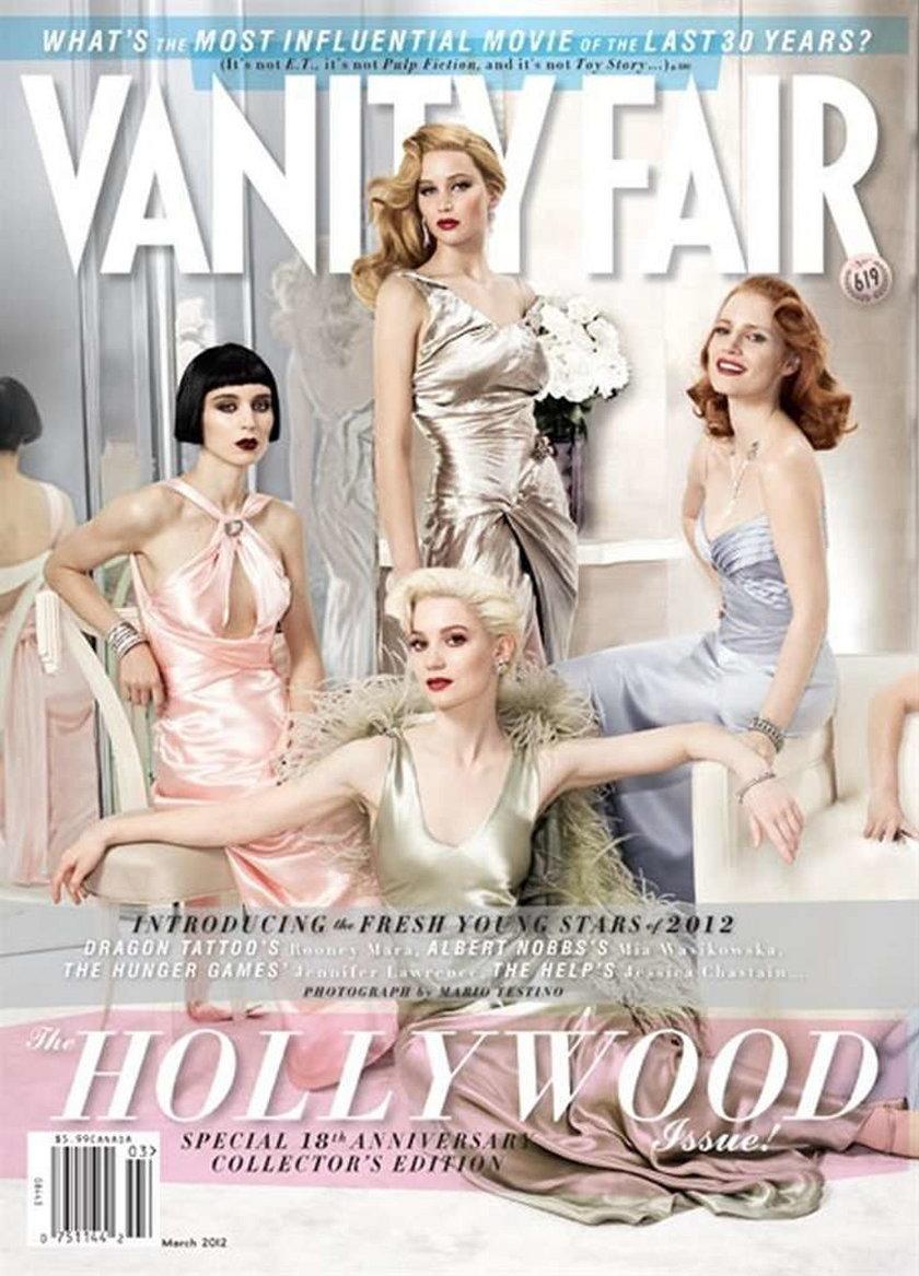 Vanity Fair Hollywood Issue marzec 2012