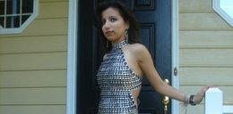 Nie uwierzysz, z czego zrobiła sukienkę na bal