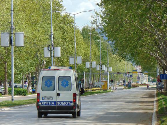 Saobraćajna nesreća se desila na Bulevaru Nemanjića u Nišu kod pijace