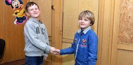8-letni bohater uratował kolegę