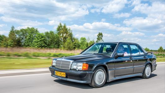 Mercedes 190E 2.3-16 Cosworth – wschodząca gwiazda   Używane