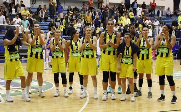 Košarkašice Fenerbahče slave trijumf