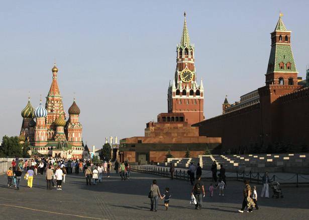 Moskwa - Plac Czerwony, ścisłe centrum rosyjskiej stolicy. Fot. Bloomberg