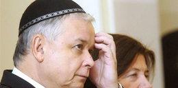 Kaczyński jako pierwszy modlił się w synagodze