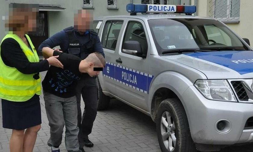 Wpadka fałszywego policjanta