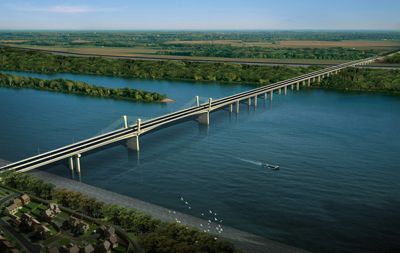 Projekat za most Zemun - Borča