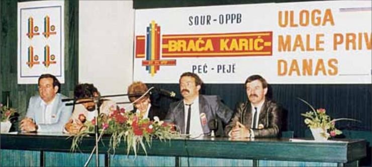 Braca Karic 1987