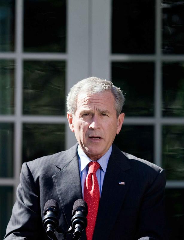 Prezydent Stanów Zjednoczonych całkowitą winą za nasilenie przemocy na Bliskim Wschodzie obarczył rządzący w Strefie Gazy Hamas. Fot. PAP