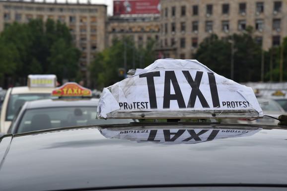 Protest taksista