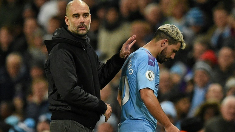 Manchester City forward Sergio Aguero faces a spell on the sidelines