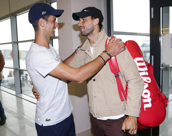 Novak Đoković i Grigor Dimitrov