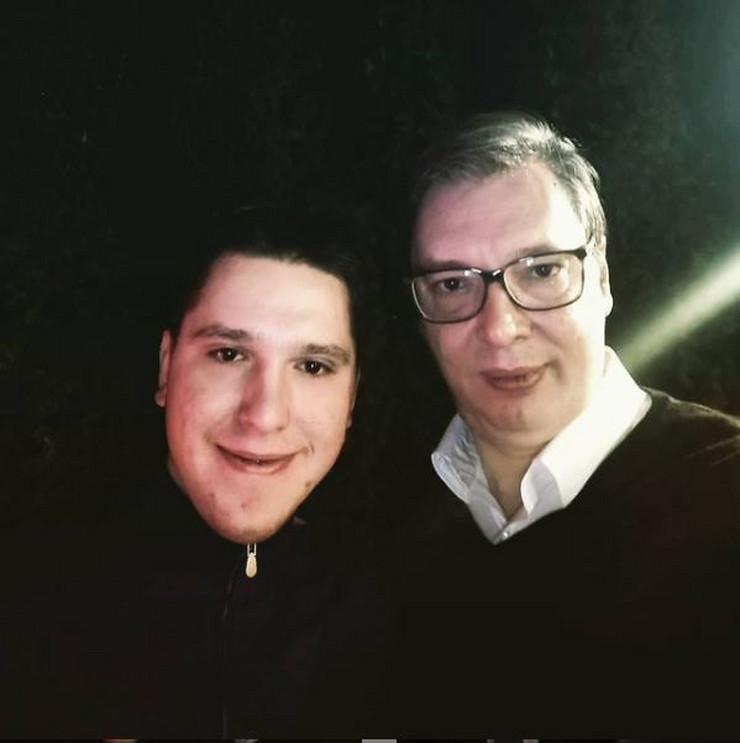 Aleksandar i Danilo Vučić