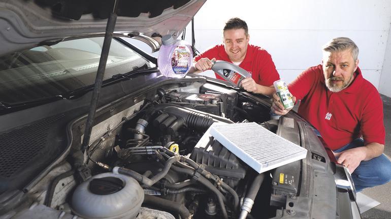 Sam możesz zrobić przegląd auta